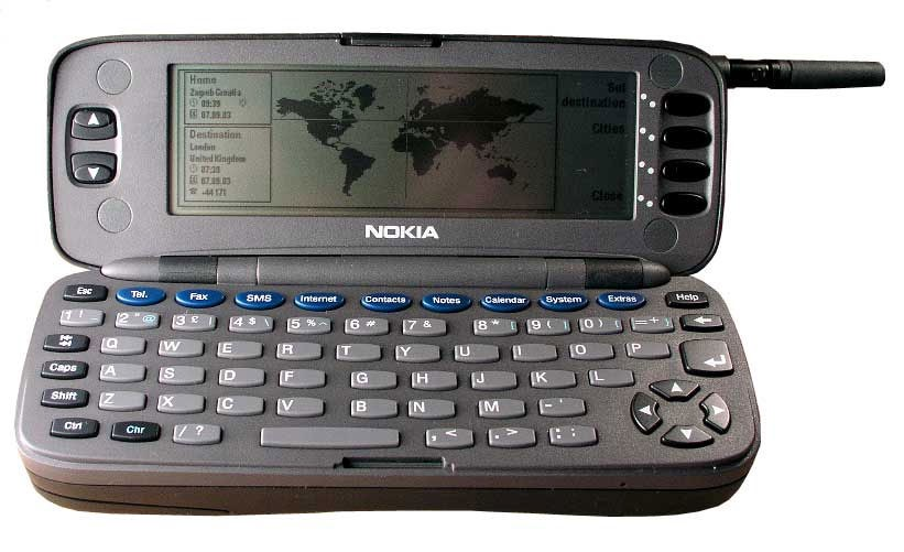 Eerste Nokia Communicator