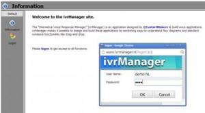 Inlog IVR manager I-Plus