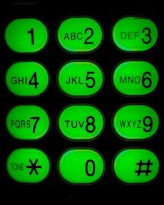 Toestenbord telefoon