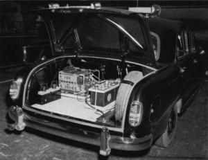 Autotelefoon kofferbak